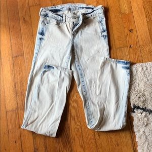 Aeropostale a is washed skinny jeans